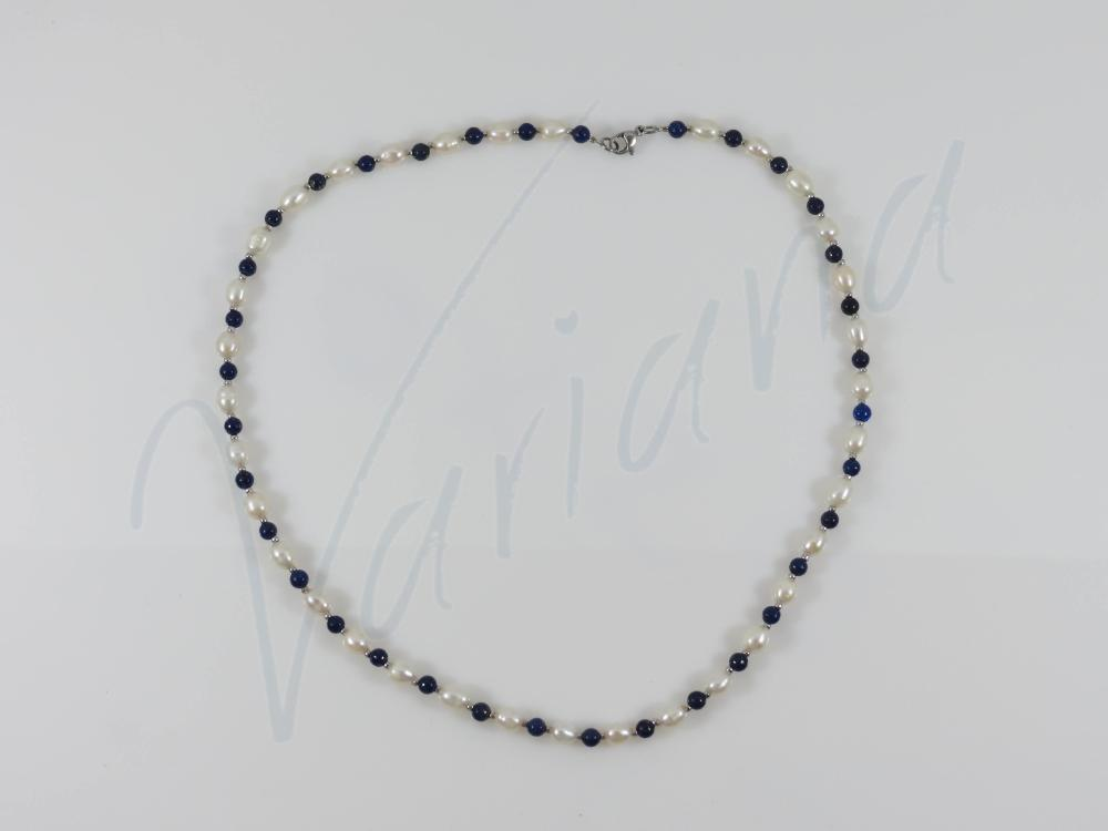 Colier Blue Pearl