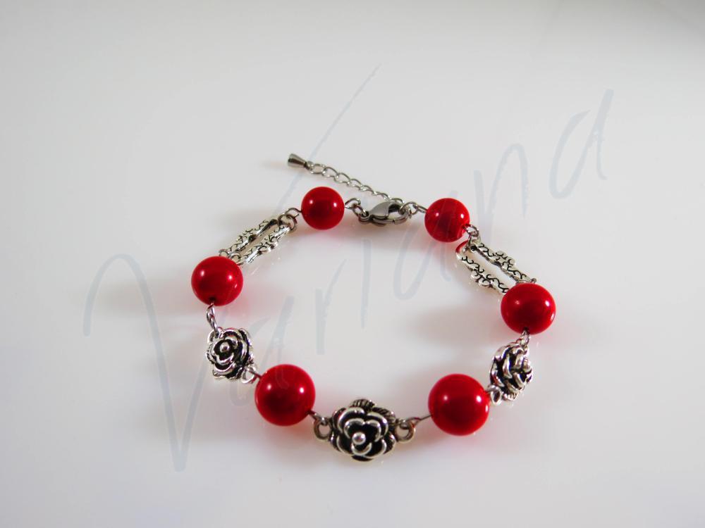 Bratara Red Rose