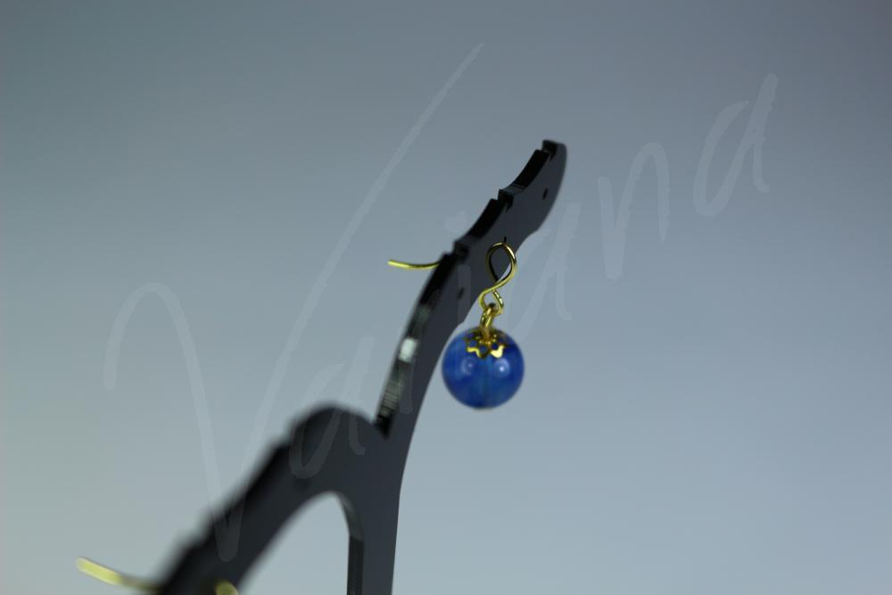 Cercei Gold Blue