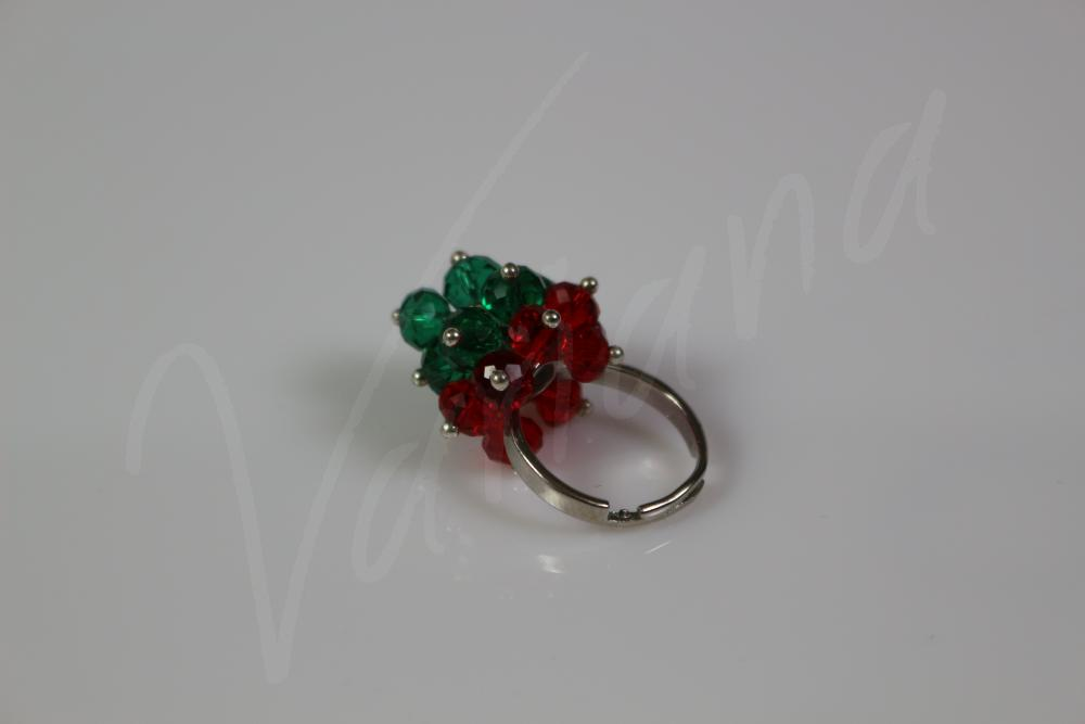 Inel Red&Green