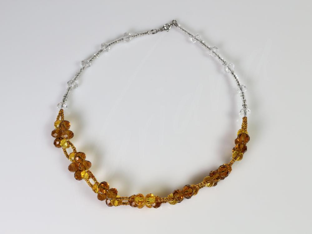 Colier Cristale aurii
